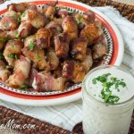 Sugar Free Sweet & Spicy Bacon Chicken Bites