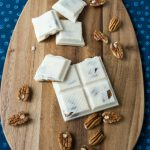 Sugar Free Maple Pecan Coconut Candy Bars