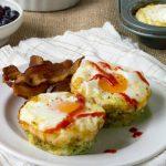 Baked Zucchini Egg Nests