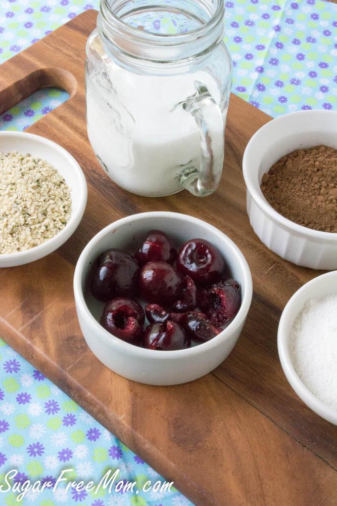 cherry chocolate smoothie (1 of 1)