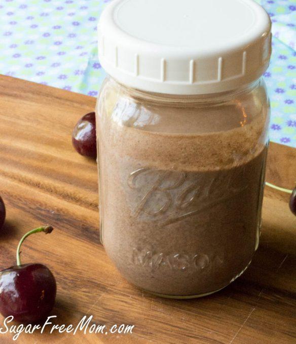 cherry chocolate smoothie8 (1 of 1)