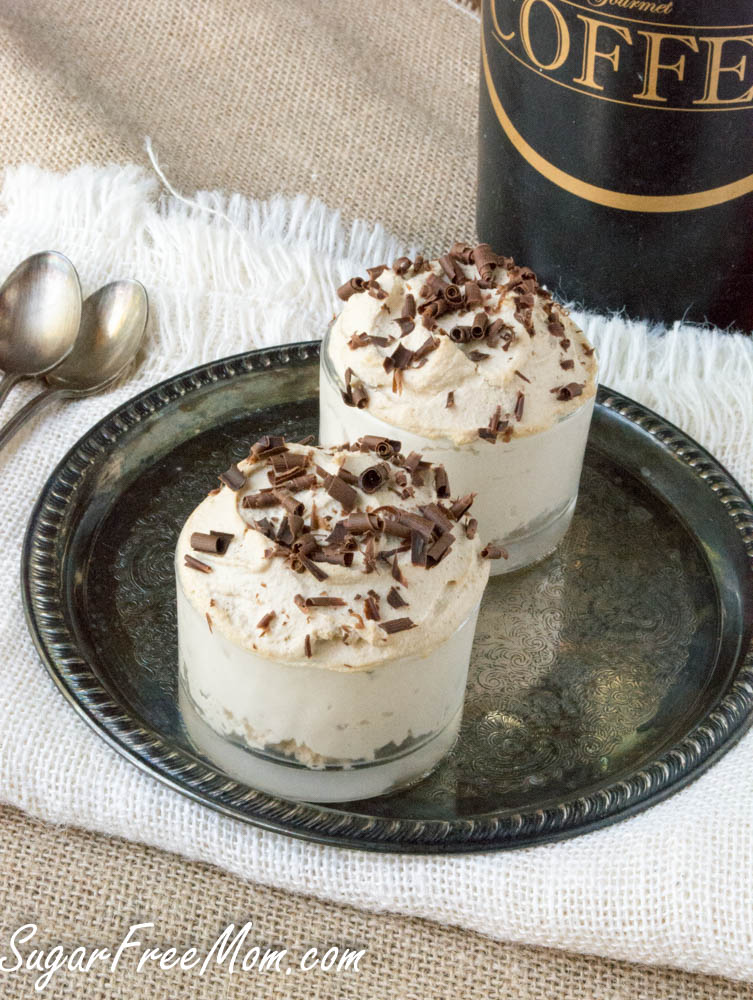 sugar free low carb coffee ricotta mousse. Black Bedroom Furniture Sets. Home Design Ideas