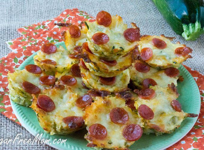 Mini Zucchini Pizza Bites