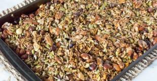 Crock Pot Grain-Free Low-Carb Sugar-Free Granola