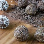 No Bake Sugar Free Chocolate Protein Bites (Grain Free, Low Carb, Nut Free)