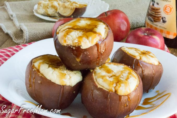 caramel cheesecake stuffed apples6 (1 of 1)