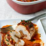 Low Carb Pizza Stuffed Chicken Breasts