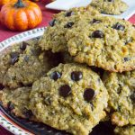 Sugar Free Pumpkin N'Oatmeal Cookies {Grain Free, Low Carb}