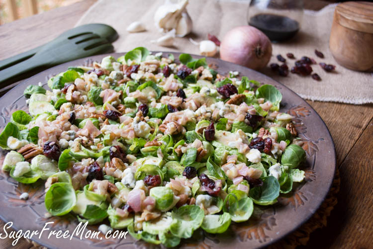 Pecan Cranberry Brussels Sprout Salad4 (1 of 1)