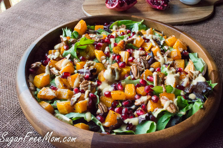 butternut squash pomegranate salad3 (1 of 1)