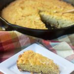 Grain Free Low Carb Cheesy Cornbread {Almond Flour Free}