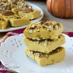 Paleo Pecan Pumpkin Pie Fudge {Low Carb, Sugar Free}