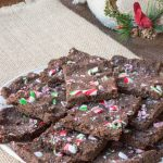 Sugar-Free Peppermint Brownie Bark