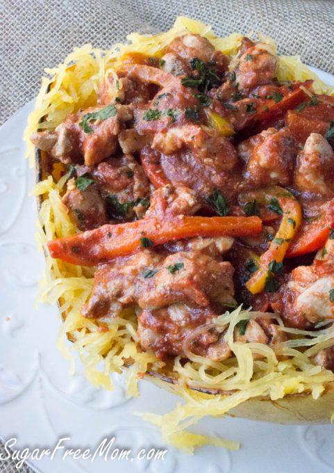 chicken cacciatore spaghetti squash4 (1 of 1)