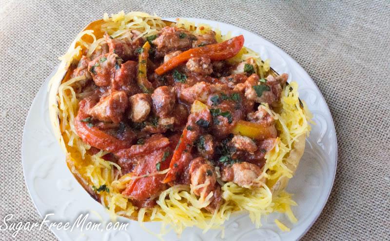 chicken cacciatore spaghetti squash6 (1 of 1)