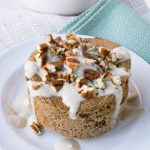 Sugar-Free Coffee Toffee Pecan Mug Muffin