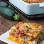 Low Carb Grain Free Zucchini Lasagna