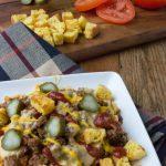Crock Pot Low Carb Cheeseburger Chili