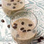 Sugar-Free Cappuccino Chia pudding