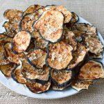 Eggplant Parmesan Chips