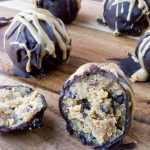 Sugar-Free Peanut Butter Cookie Dough Truffles (Low Carb, Keto)