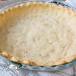 Keto Low Carb Coconut Flour Pie Crust