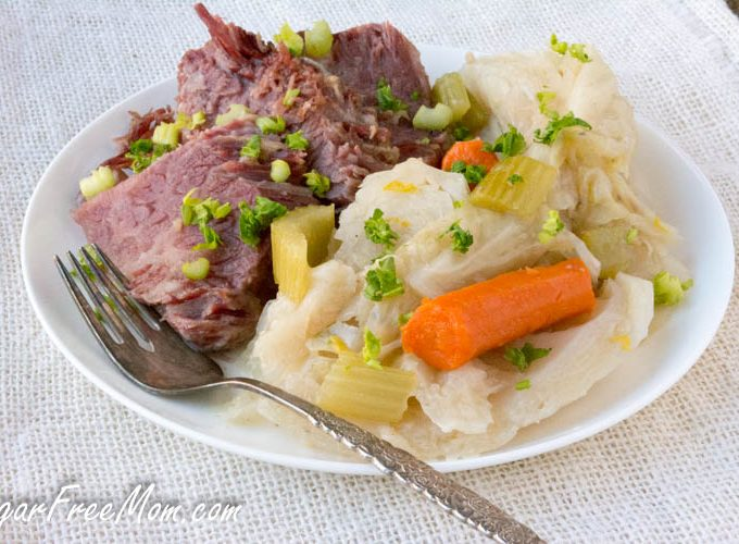 Low Carb Corned Beef and Cabbage (Instant Pot or Crock Pot)