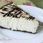 Sugar-Free Grasshopper Mousse Pie (Low Carb, Nut Free)