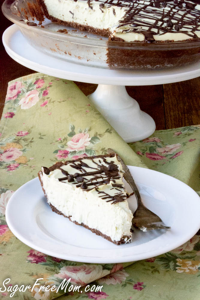 sugar free grasshopper pie