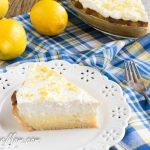 Sugar-Free Lemon Cream Pie {Low Carb, Gluten Free}