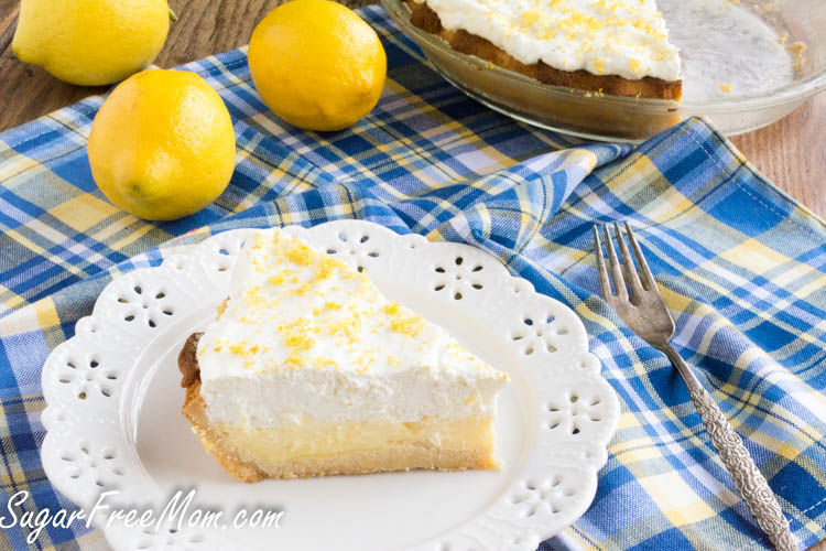 keto lemon cream pie