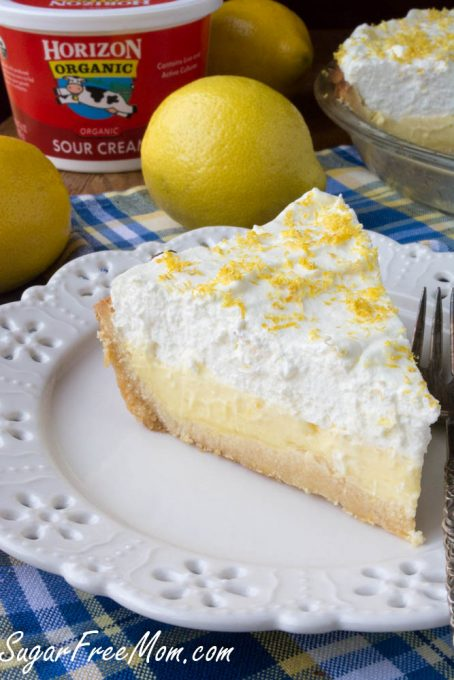 sugar free lemon cream pie