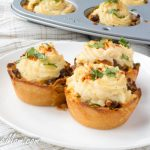 Mini Low Carb Shepherd's Pot Pie