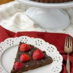 Sugar-Free Salted Chocolate Strawberry Tart