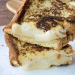Low Carb Cloud Bread Grilled Cheese