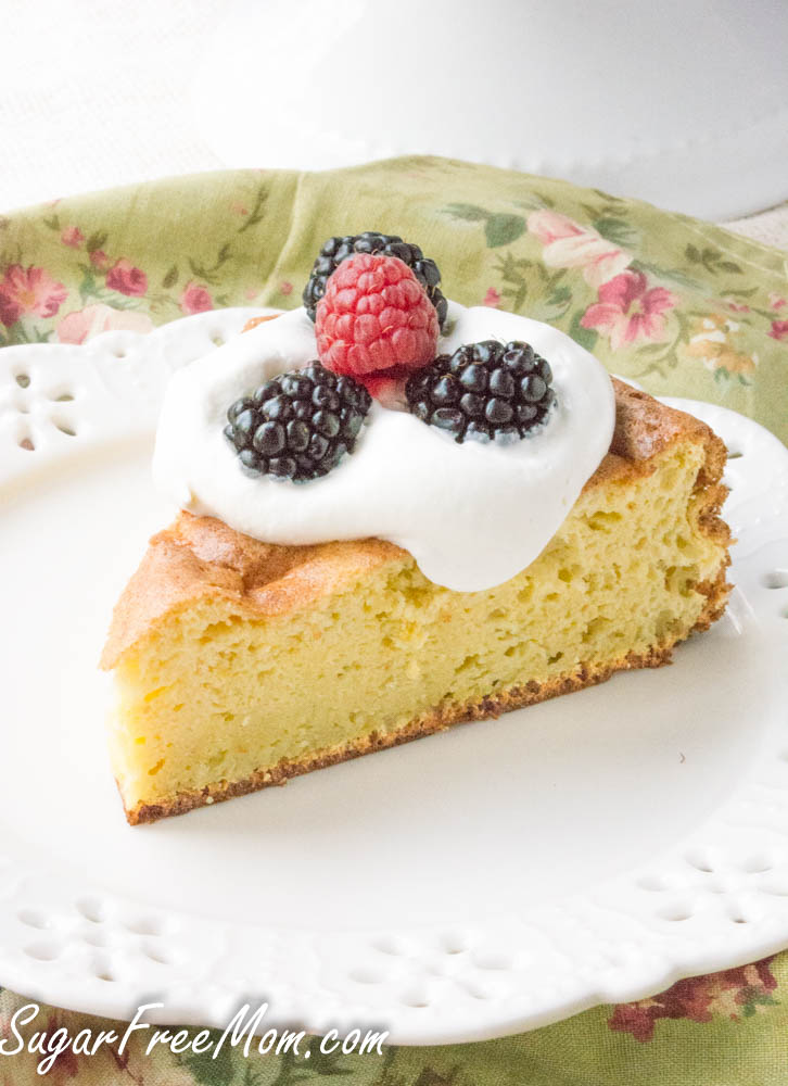 SugarFree Low Carb Sponge Cake