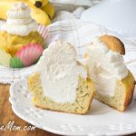 Low-Sugar Low-Carb Banana Cream Pie Cupcakes