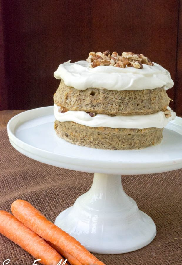 Low Carb Carrot Cake Mug Cake