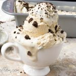 Sugar-Free Coffee Chocolate Crunch Ice Cream