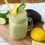 Low Carb Cucumber Green Tea Detox Smoothie