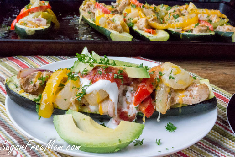 fajita stuffed zucchini-5