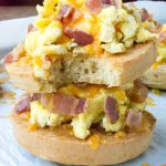 Cheesy Low Carb Bacon Egg Muffin Tops