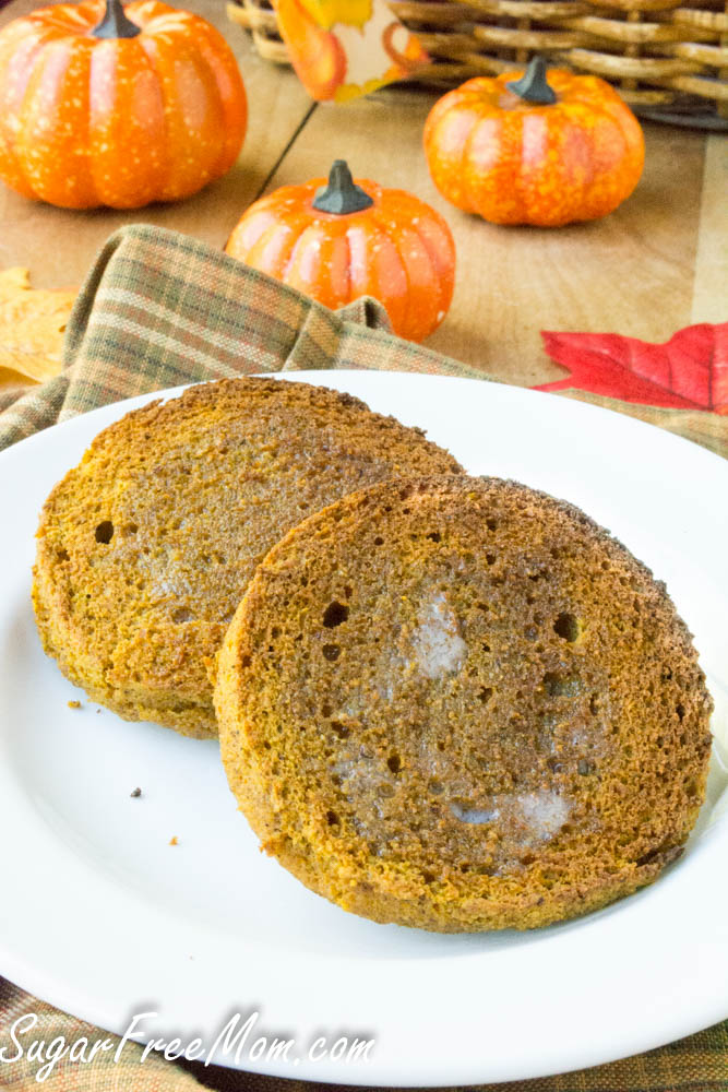 pumpkin english muffin-2