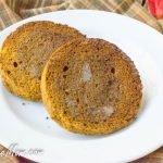 1-Minute Low Carb Pumpkin Spice English Muffin