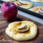 Low Carb Cloud Bread Mini Apple Cheese Danish