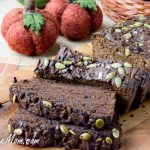 Sugar-Free Low Carb Chocolate Pumpkin Bread (Nut Free)