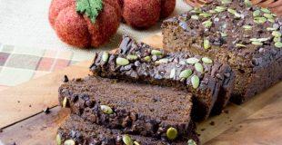 Sugar-Free Low Carb Chocolate Pumpkin Bread (Nut Free)