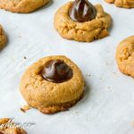 Low Carb Gluten Free Peanut Butter Blossoms