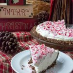 No Bake Sugar-Free Low Carb Peppermint Cheesecake Pie
