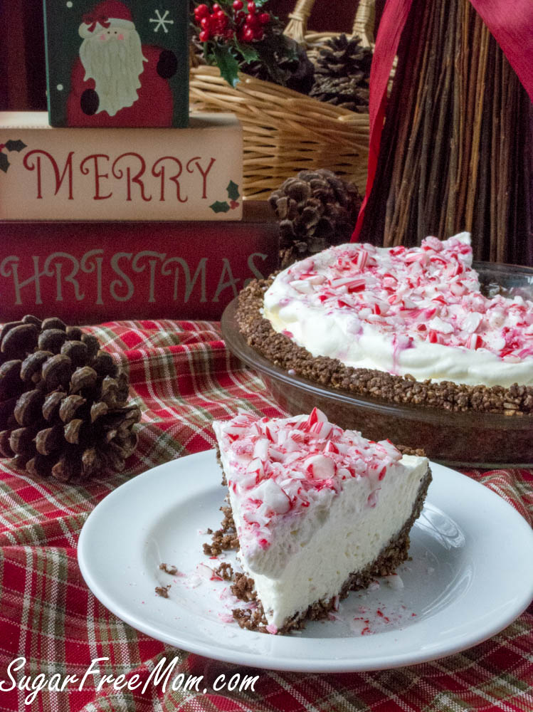 sugar-free-peppermint-cheesecake-pie-5